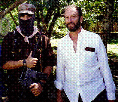 Landau and SubComandante Marcos